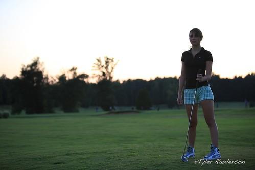 sunset girl golf links hollyridge