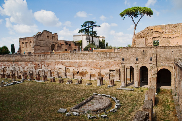 Stadium Of Domitian S Palace Flickr Photo Sharing