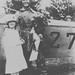 Photograph of airmail pilot Lt. James Edgerton and sister