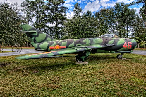 museum plane georgia airplane geotagged nikon russia aircraft aviation jet aeroplane savannah airforce russian hdr coldwar mig topaz mig17 mighty8th photomatix tonemapped d80 topazadjust geo:lat=32115997 geo:lon=81235831 bigjohnsonphotoblogspotcom