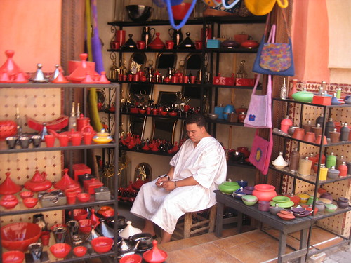 Ceramics Store in Marrakesh
