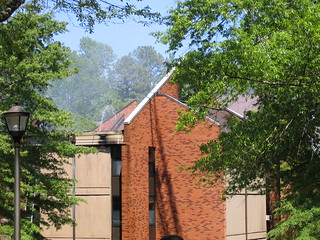 Preston Hall Fire, May 3, 2005