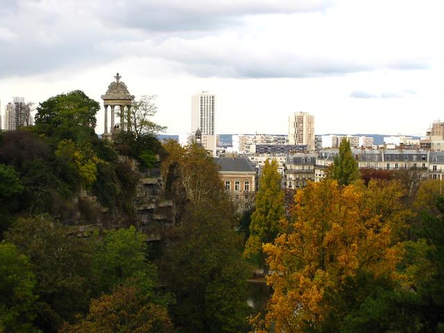 Parc des Buttes Chaumont, Paris, France