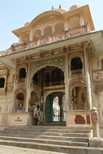 Templo de los monos de jaipur Galwar Bagh, el templo de los Monos de Jaipur - 4172557454 aabecb07c0 - Galwar Bagh, el templo de los Monos de Jaipur