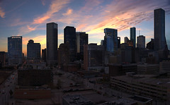 Skyline  Houston  Texas  20140206