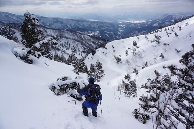 取立山 護摩堂峠周回 その6 下山ルートについての考察