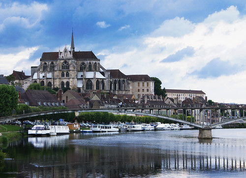 france cathedral bourgogne auxerre yonne saintétienne francelandscapes