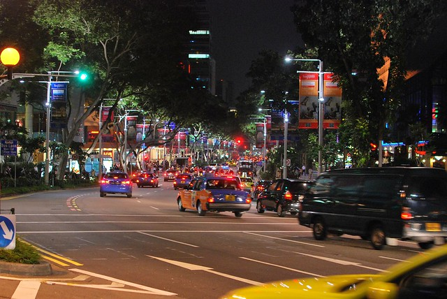 Orchard Road photo I took in 2009