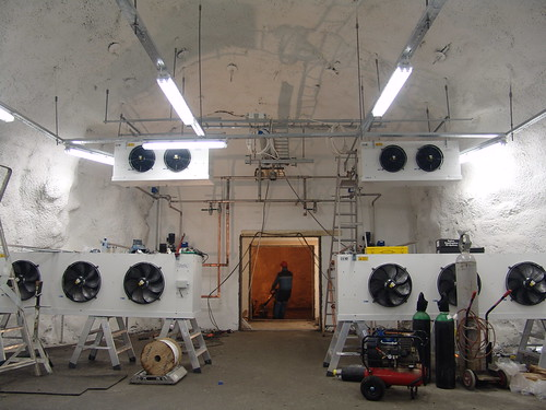 Cooling System of the Svalbard Global Seed Vault