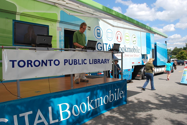 Toronto Public Library - Digital Bookmobile