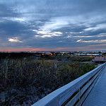 Watch Hill at twilight, Fire Island National Seashore