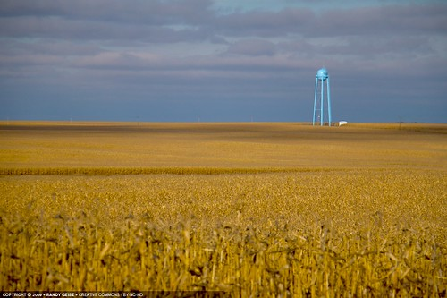 fall rural landscape unitedstates watertower fields mn ivanhoe