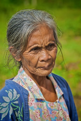 Philippines Old Woman