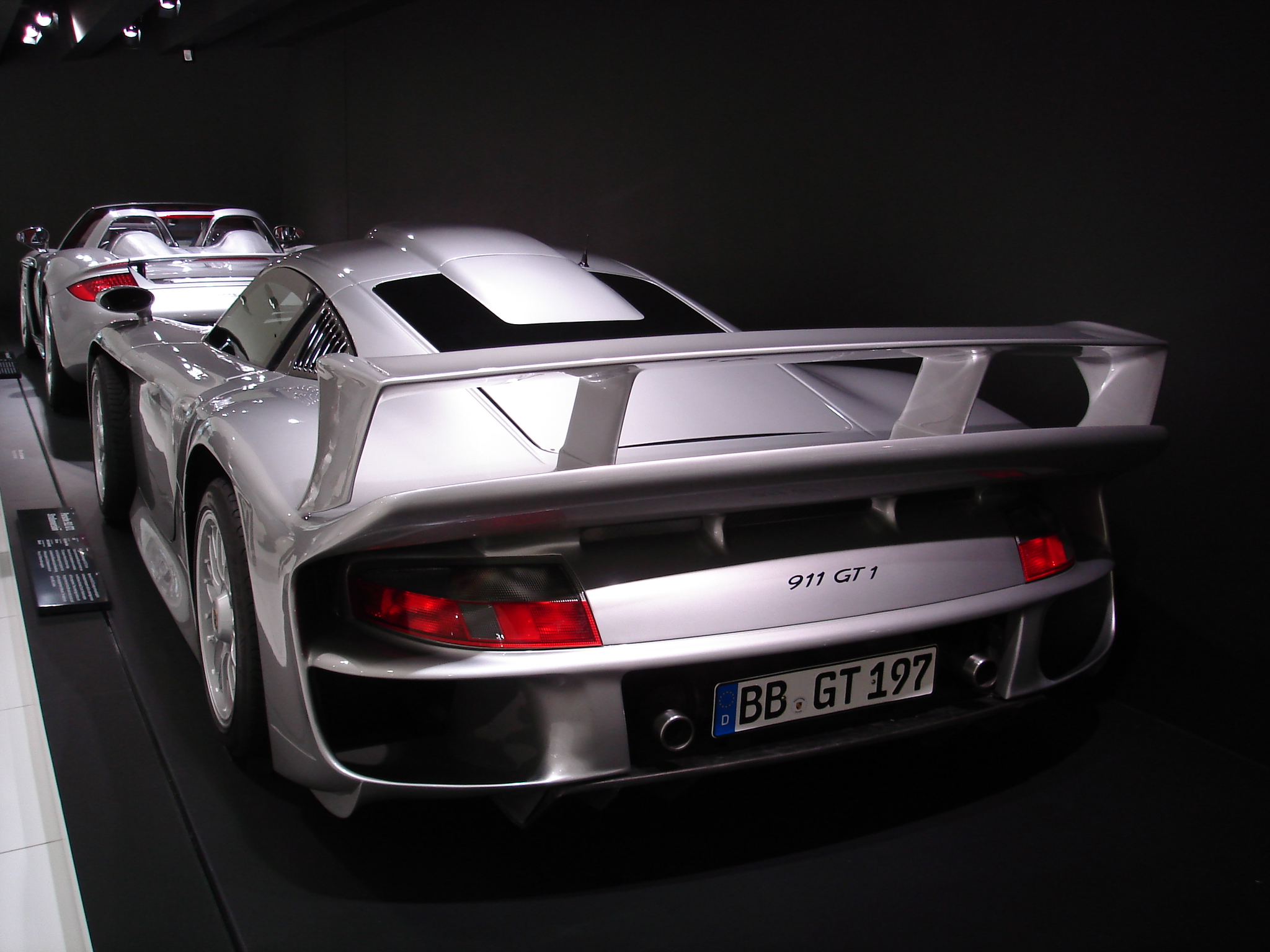porsche carrera gt 911 gt1 street version flickr photo sharing. Black Bedroom Furniture Sets. Home Design Ideas