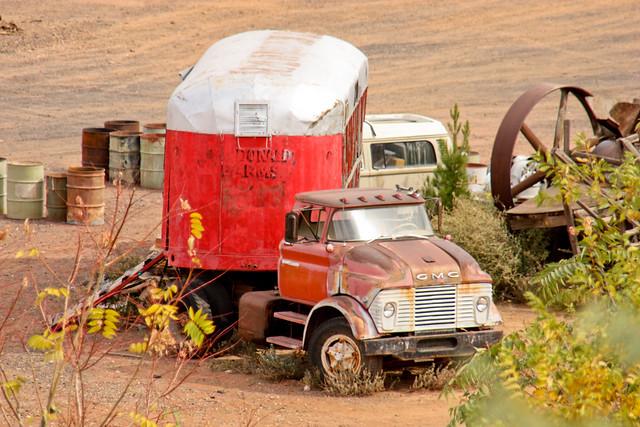 Antique Tractor Trailers : Antique tractor trailer flickr photo sharing