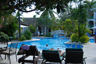 Mango Bay Resort pool, Barbados