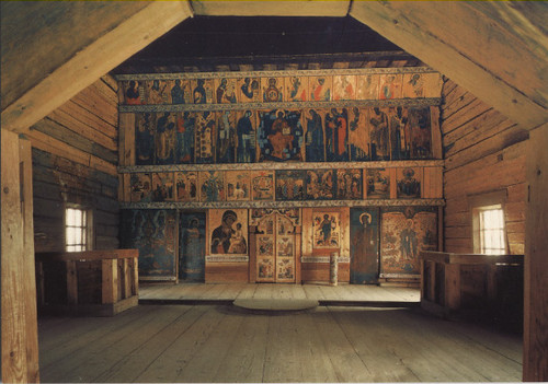 RU - Kizhi Pogost - Iconostasis of the Church of the Intercession