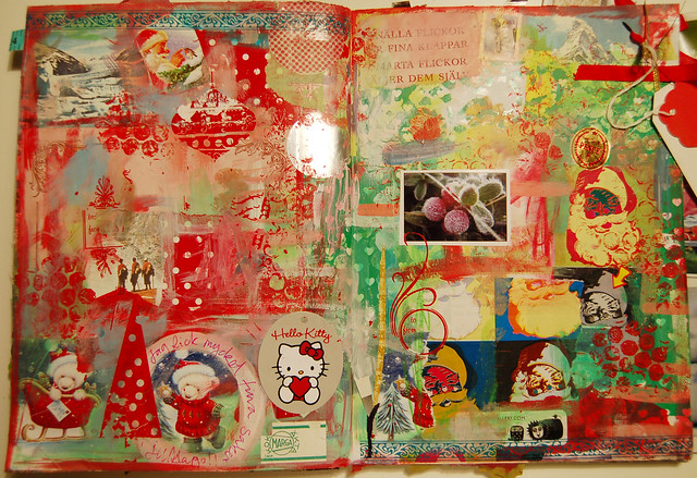 Wrapping paper collage (Copyright Hanna Andersson)