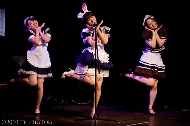 "Reni Mimura at Reni's Japanese ""Maid"" Show"