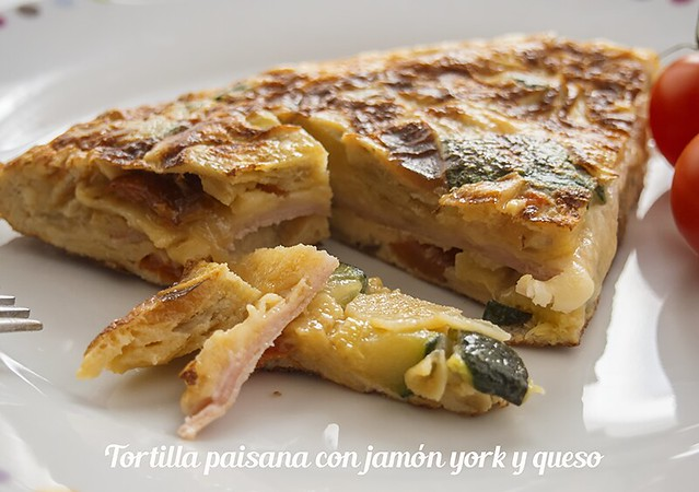 Tortilla paisana jamon york y queso_2