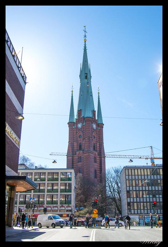 Estocolmo qué ver - Iglesia de Santa Clara