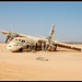 Plane in desert by العقوري [ Libya Photographer ]