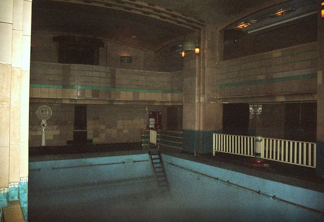 Haunted swimming pool hms queen mary flickr photo - Queen mary swimming pool victoria ...
