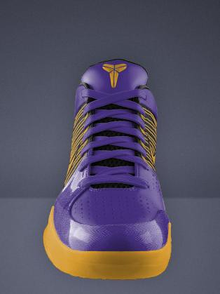 Custom Kobe Bryant Basketball Shoe
