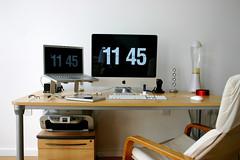 The new desk setup