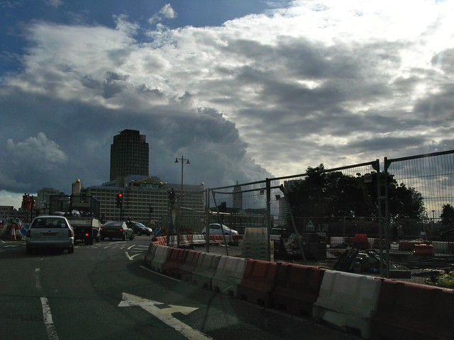 Heading south over Blackfriars Bridge