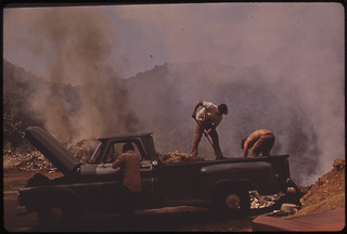 Open Garbage Dump on Highway 112, North of San Sebastian 02/1973