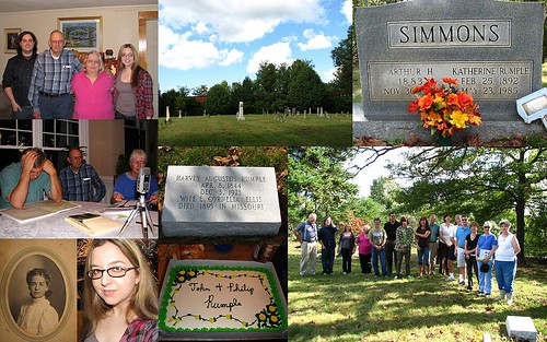 Family, Cemeteries, Bloodlines, and Cake (5/365)