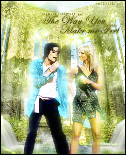 Michael Jackson & Britney Spears The Way You Make Me Feel