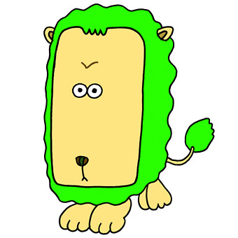 Lion Cartoon Character on Lion Cartoon Character   Lion With Big Face   Flickr   Photo Sharing