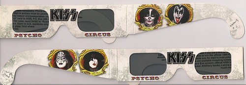 12/15/98 Kiss/Econoline Crush @ Minneapolis, MN (3-D Glasses)