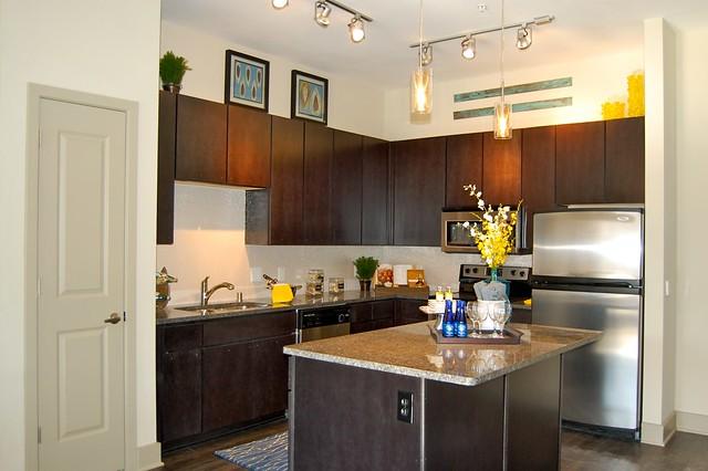 Kitchen Alta 1900 Lofts Dallas Design District Flickr Photo Sharing