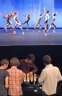 Merce Cunningham Dance Company with Sigur Rós in Split Sides (photo courtesy of the company)