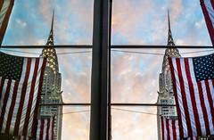 Chrysler in reflection