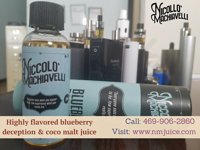 Buy Blueberry Flavored E-Liquid and E-Juice