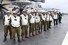 IDF Officers visit Supercarrier USS George H. W. Bush (CVN 77)