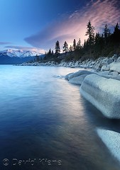 Sierra Wave over Sand Harbor, Lake Tahoe-Nevada State Park, Nevada