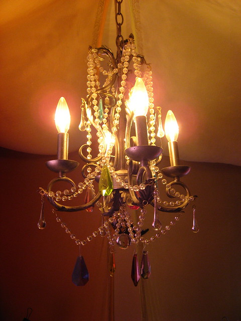 Multi colored crystal chandelier in Chandeliers - Compare Prices