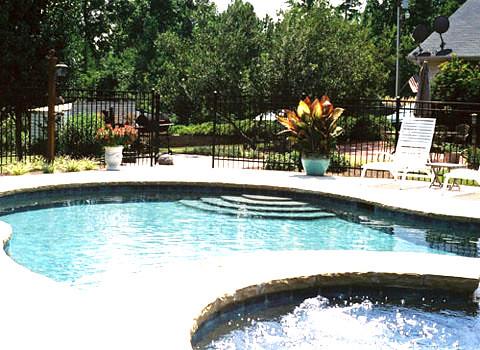 Inground swimming pool atlanta flickr photo sharing for Public swimming pools atlanta ga