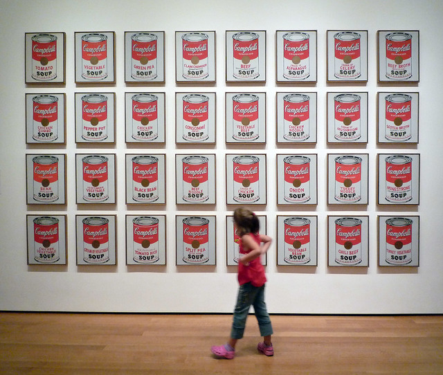 relationship between abstract expressionism and pop art definition