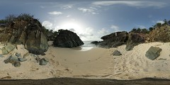 The lovers beach