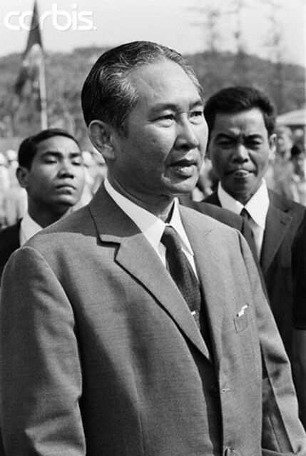 March 1974, Cambodia - President Lon Nol
