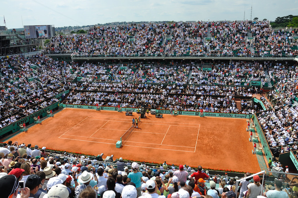Pista Central Roland Garros 2009