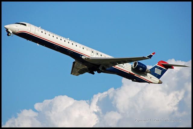 Us Airways 2003 Bombardier Inc Cl600 2d24 N911fj Flickr