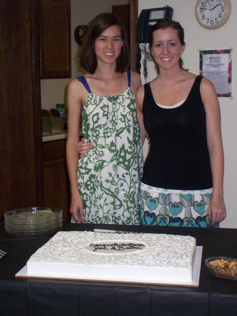 anna, britni and cake