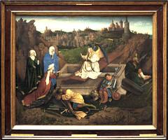 Museum Boijmans van Beuningen - De drie Maria's aan het graf, Hubert en Jan van Eyck